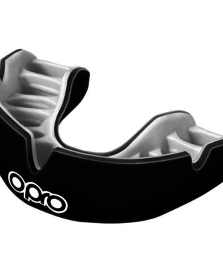 Opro Opro Power-Fit Mouthguard - Black/White