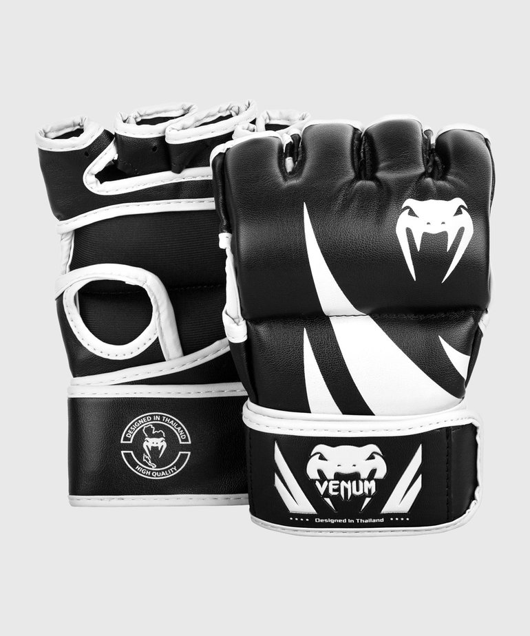 Venum Venum Challenger MMA Gloves Without Thumb - Black/White