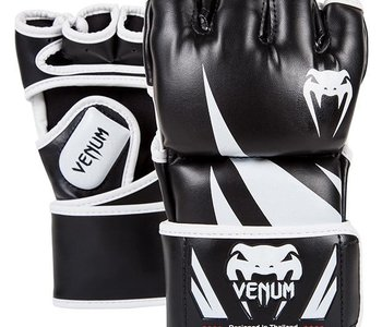 Venum Challenger MMA Gloves - Black/White