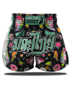 Muay Thai Addict Muay Thai Addict Starlight Unicorn Shorts