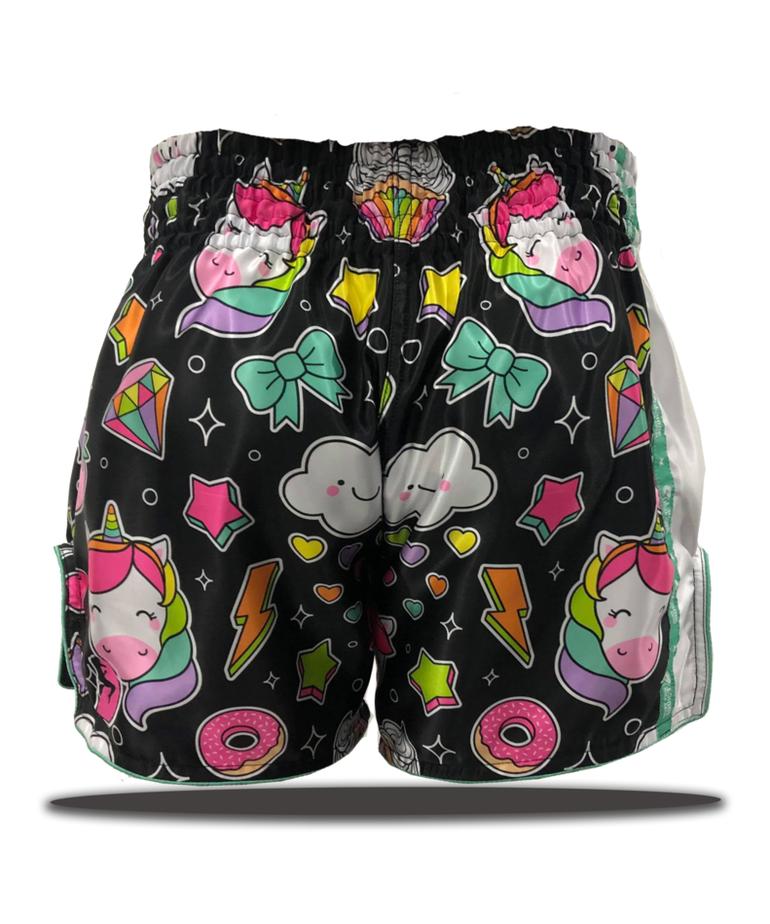 Muay Thai Addict Muay Thai Addict Starlight Unicorn Shorts