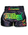 Muay Thai Addict Muay Thai Addict Rasta Crown Collector Shorts