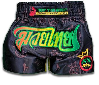 Muay Thai Addict Rasta Crown Collector Shorts