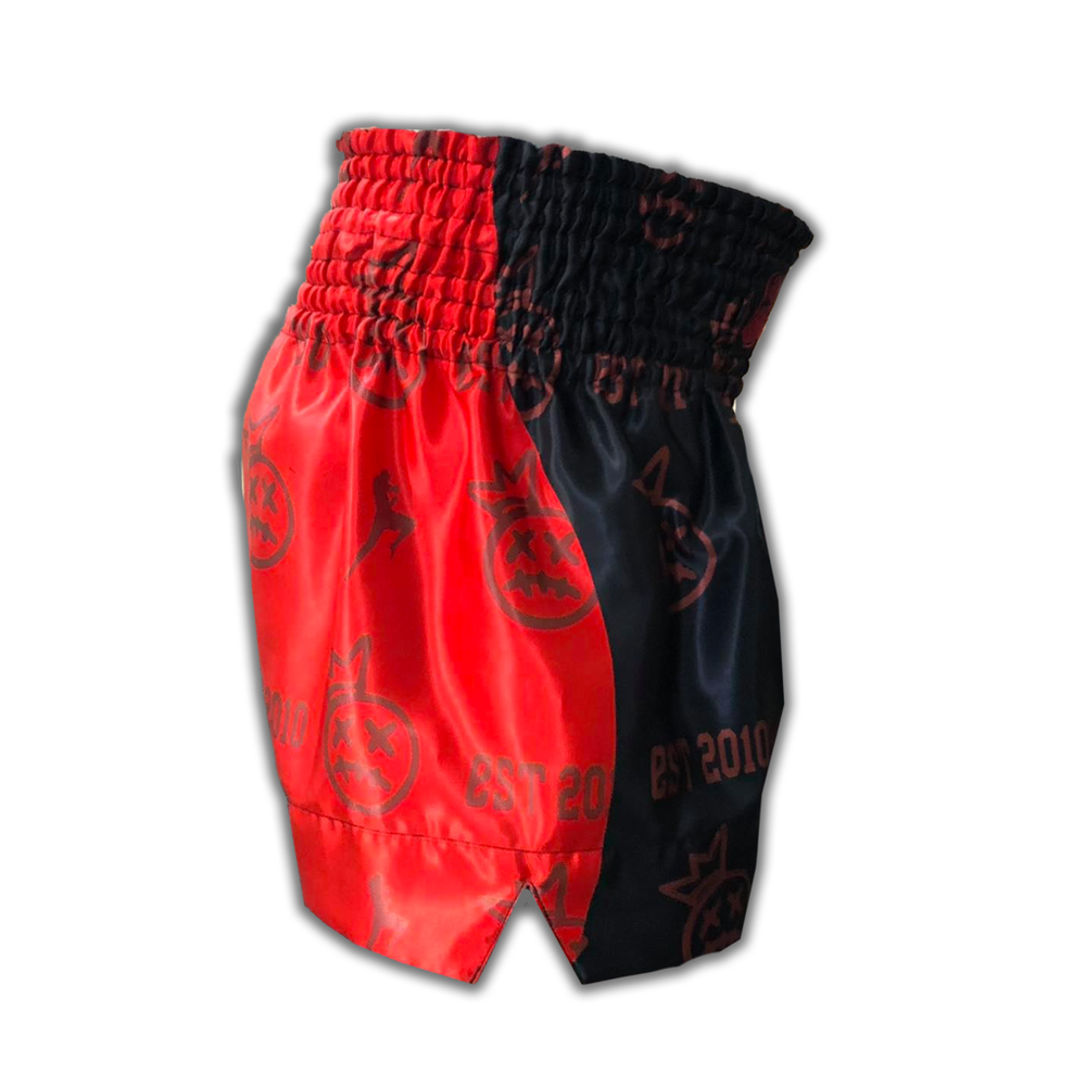Muay Thai Addict Red Crown Collector Shorts