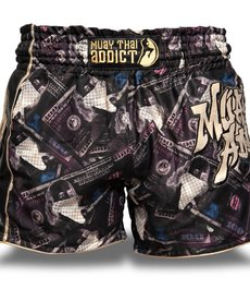 Muay Thai Addict Muay Thai Addict Dark Money Shorts