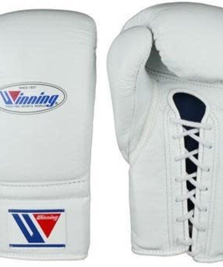 Winning Winning MS-600  Laceup Gloves - White
