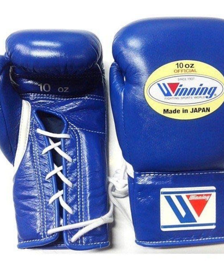 Winning Winning MS-300 Pro Fight Gloves - Blue
