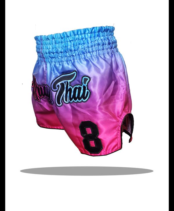 Muay Thai Addict Miami Vice Single Panel Muay Thai Shorts