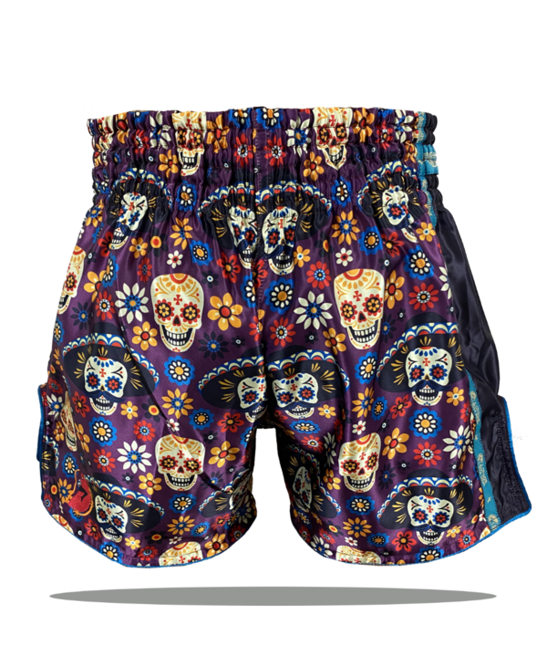 Muay Thai Addict Dia De La Muerte Muay Thai Shorts
