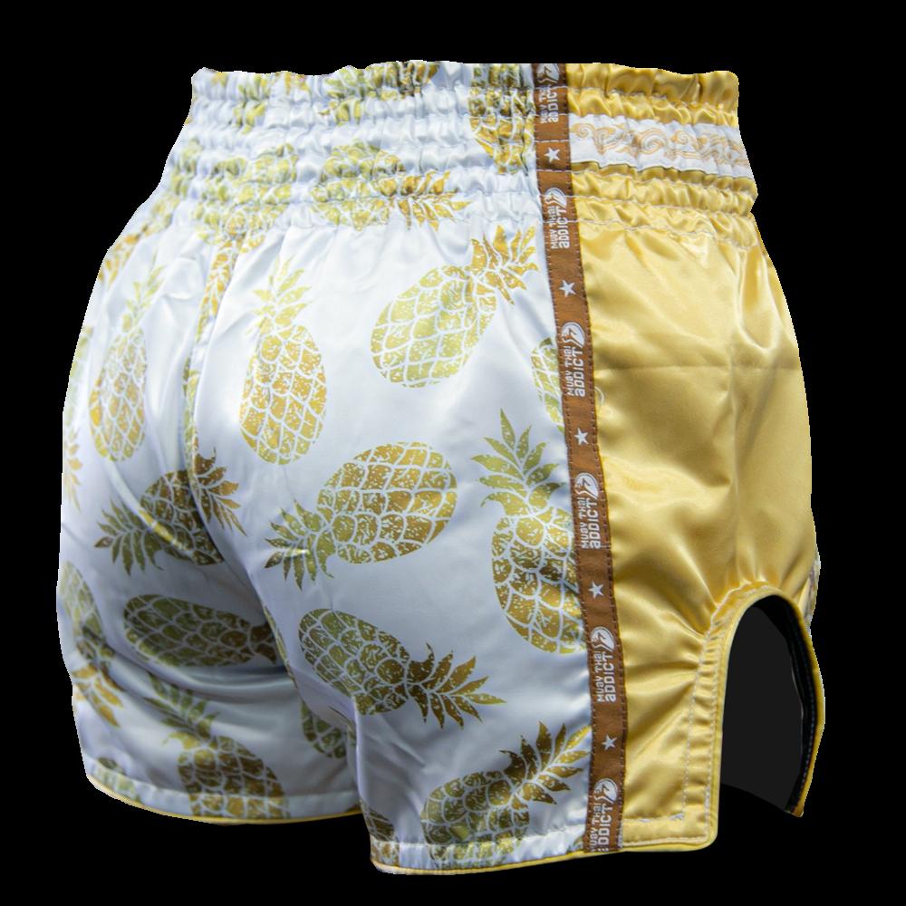 Muay Thai Addict Golden Pineapple Shorts