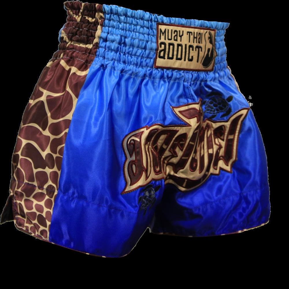 Muay Thai Addict Save the Turtles Muay Thai Shorts