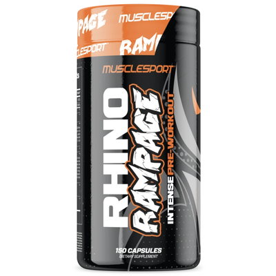 MuscleSport Rhino Rampage Capsule Preworkout