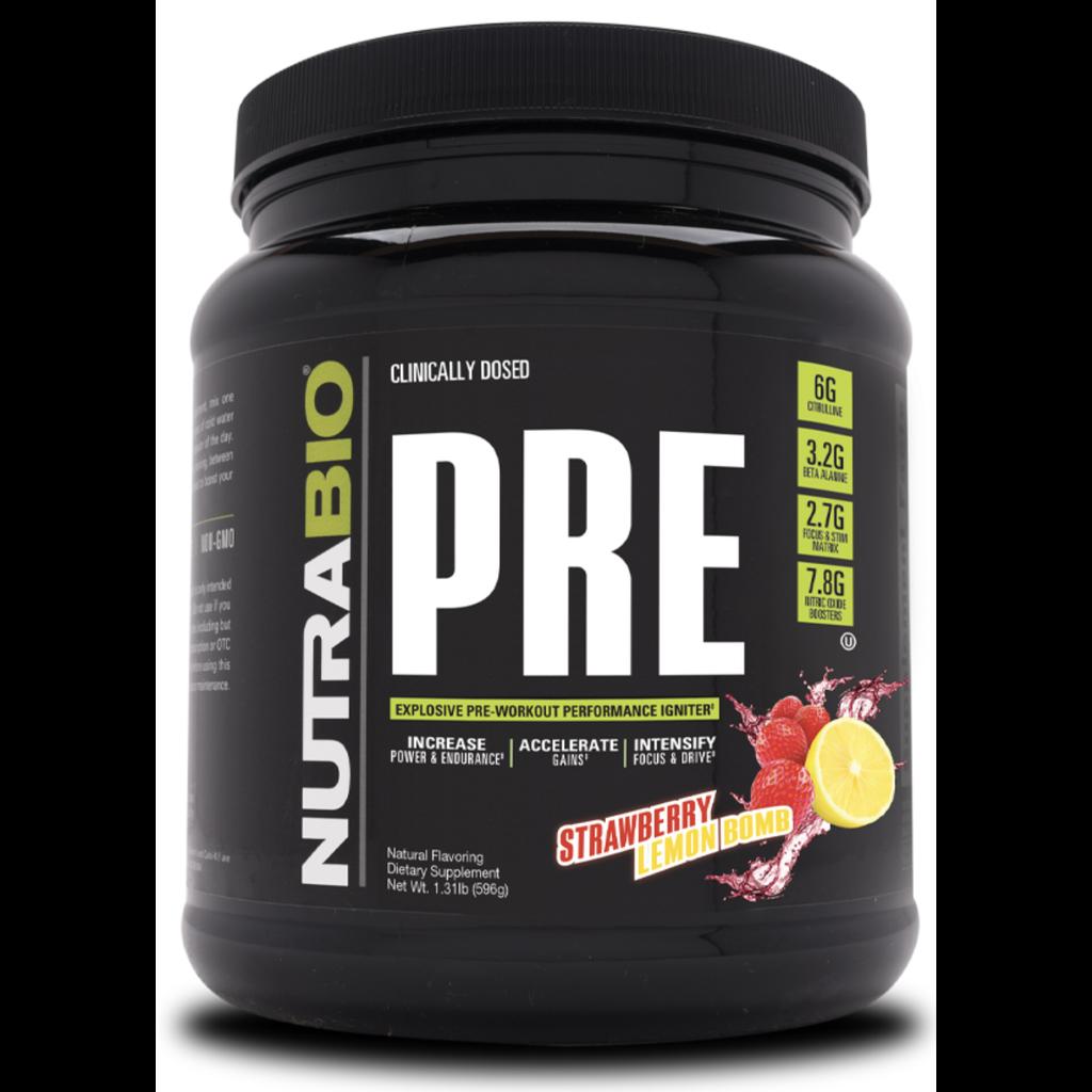 Nutrabio PRE Workout V5