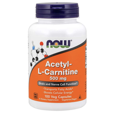 NOW Foods Acetyl L-Carnitine 500mg