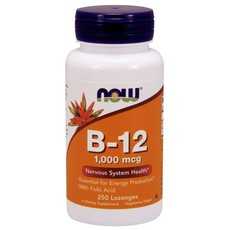 NOW Foods B-12 Lozenges