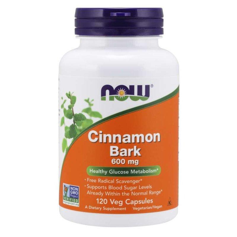 NOW Foods Cinnamon Bark 600mg