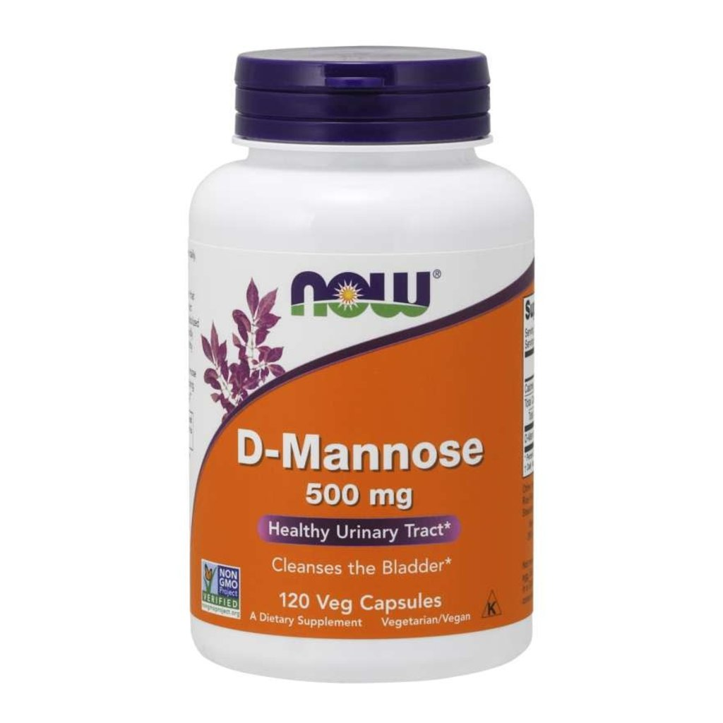 NOW Foods D-Mannose 500mg