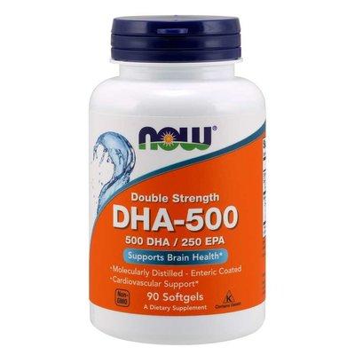 NOW Foods DHA 500mg
