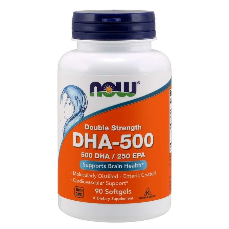 NOW Foods DHA 500mg