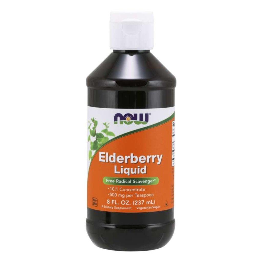 NOW Foods Elderberry Liquid
