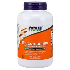 NOW Foods Glucomannan 575mg