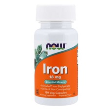 NOW Foods Iron 18mg