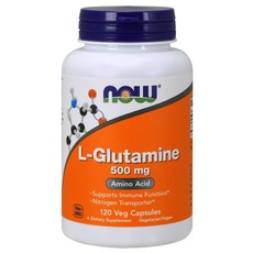NOW Foods L-Glutamine 500mg