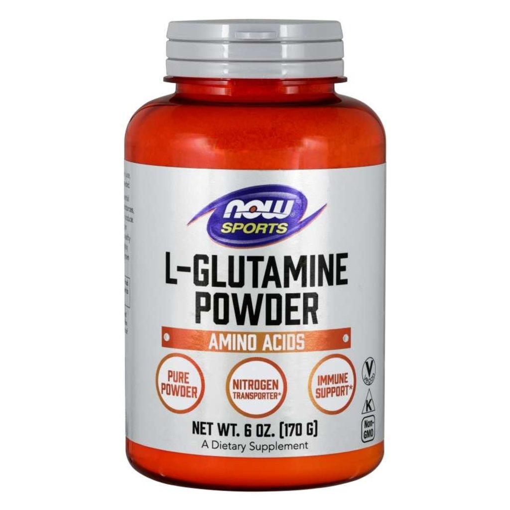 NOW Foods L-Glutamine Powder