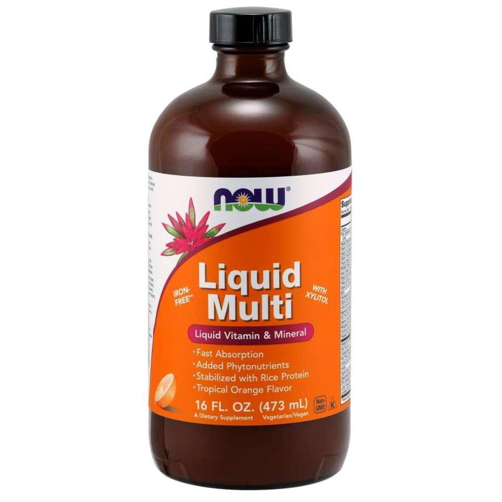 NOW Foods Liquid Multivitamin