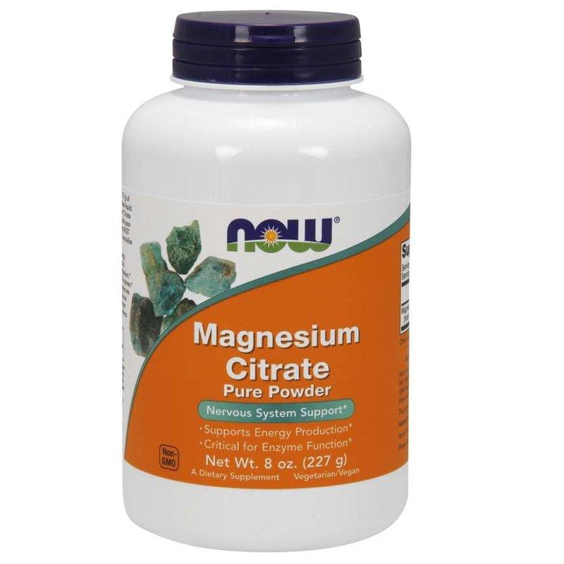 NOW Foods Magnesium Citrate Powder