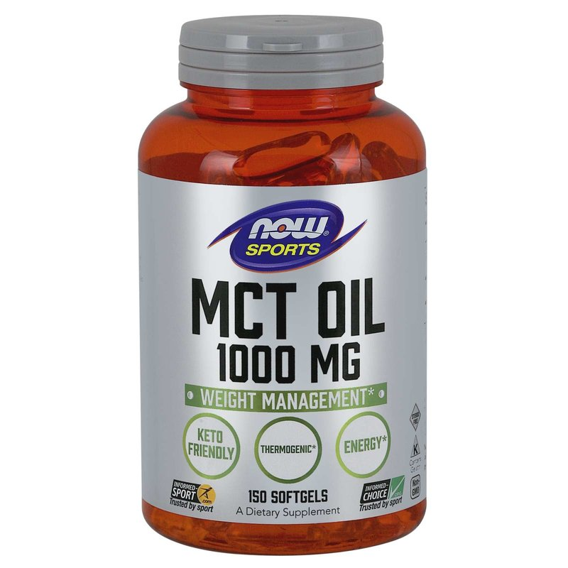 NOW Foods MCT Oil 1000mg