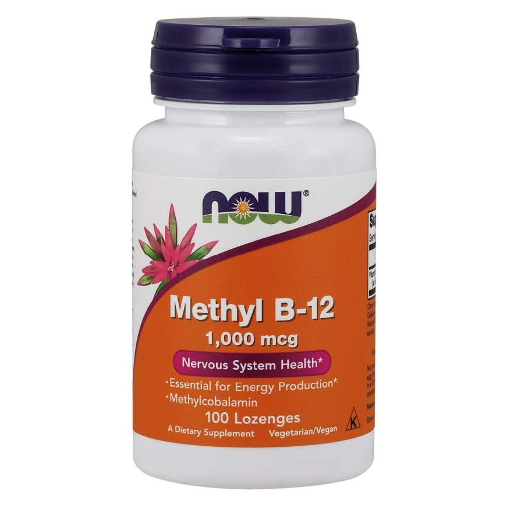 NOW Foods Methyl B-12 (Sublingual)