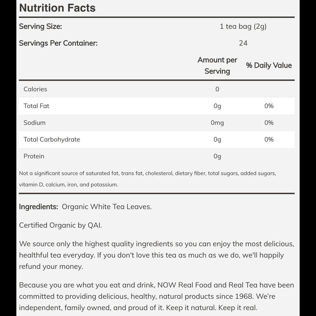 NOW Foods Now Foods Tea