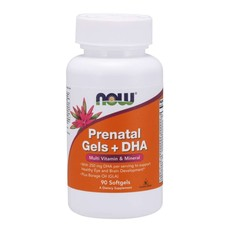 NOW Foods Prenatal Gels + DHA