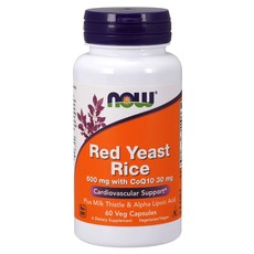 NOW Foods Red Yeast Rice + CoQ10