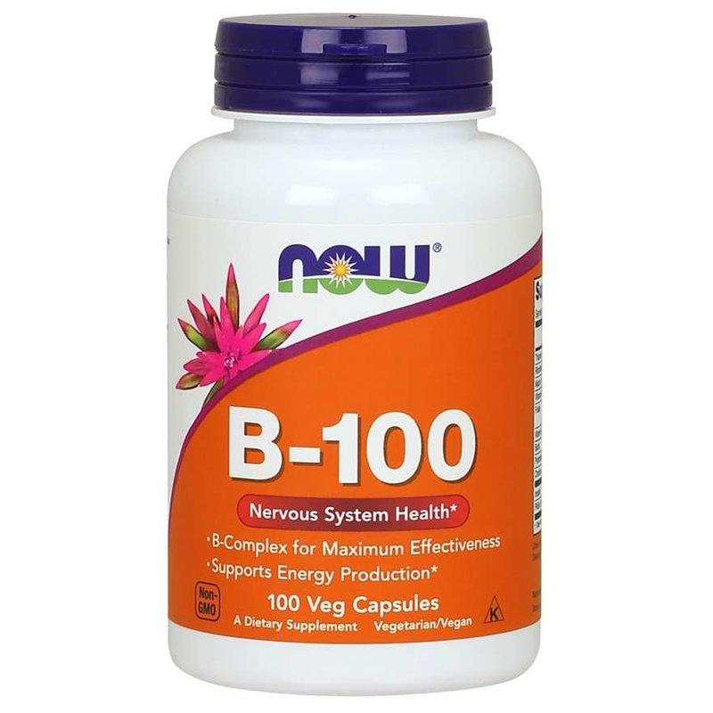 NOW Foods Vitamin B-100 (Complex)