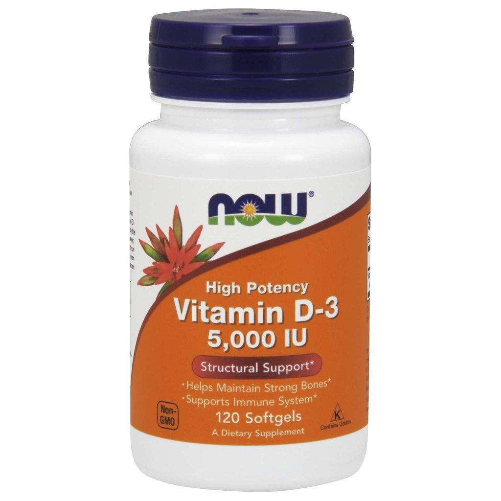 NOW Foods Vitamin D-3 5000 IU