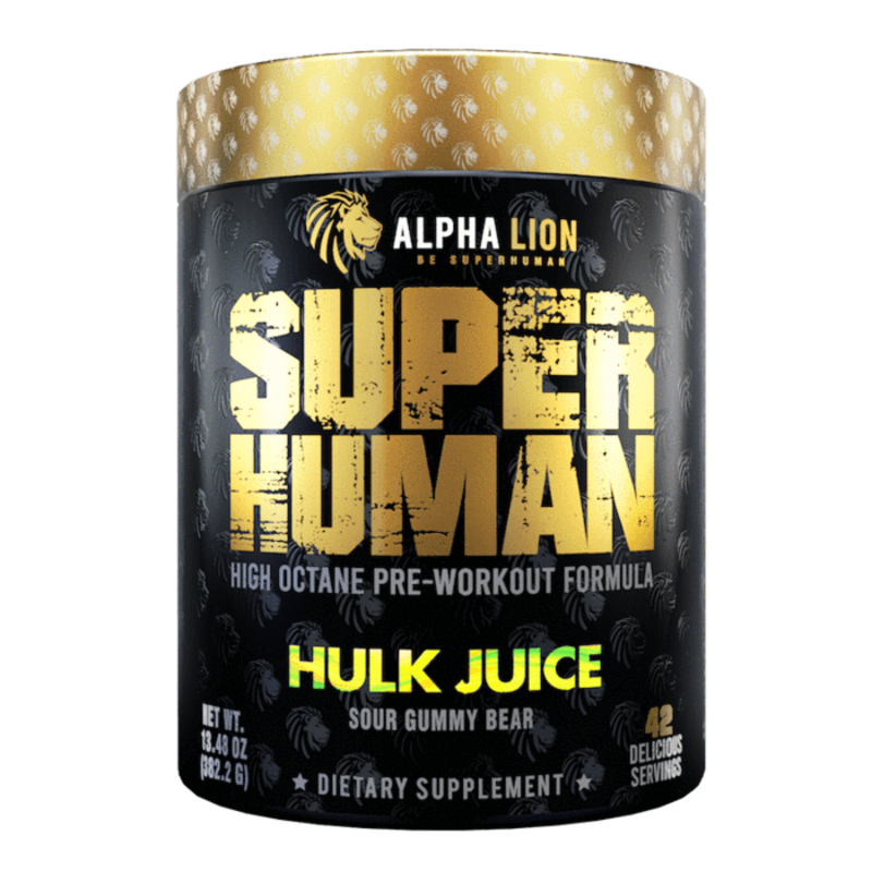 Alpha Lion Super Human Pre Workout