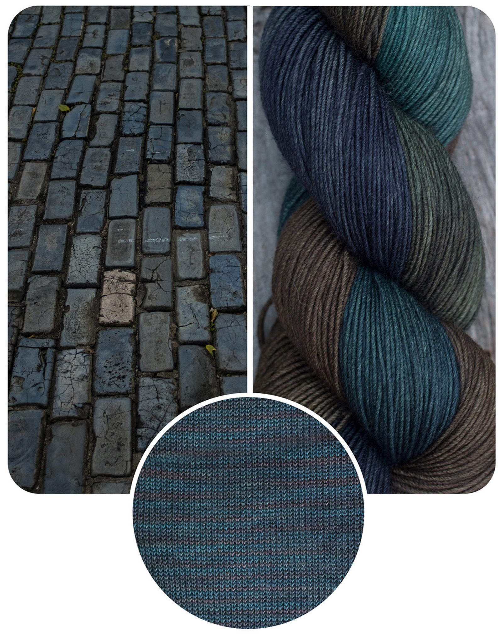 Blue Brick Blue Brick 50/50 Silky Sock Ombre