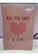 All You Knit Is Love Notebook