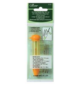 Clover Chibi  Clover Darning Needles (orange pkg) - bent
