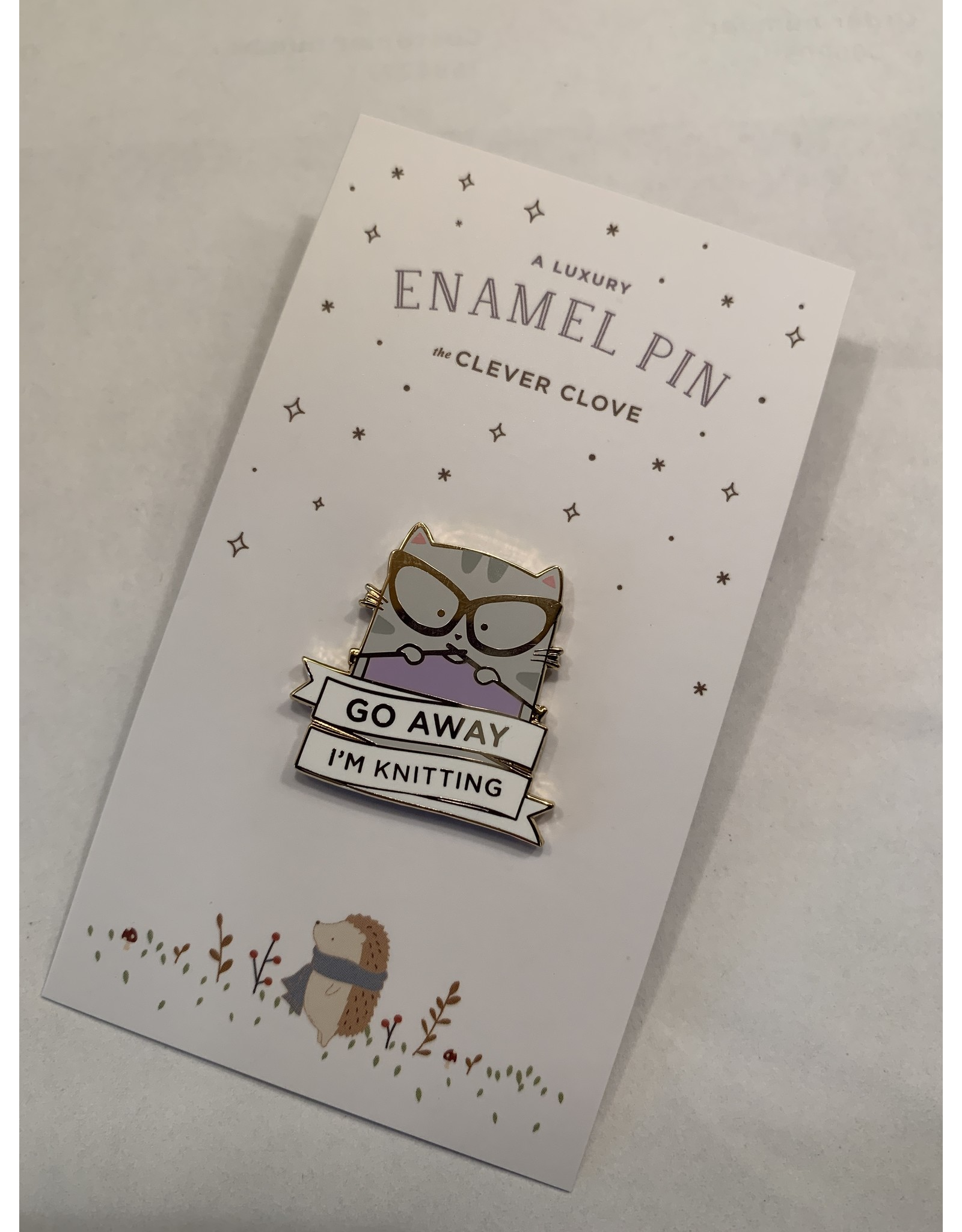 Clever Clove Clever Clove Enamel Pin