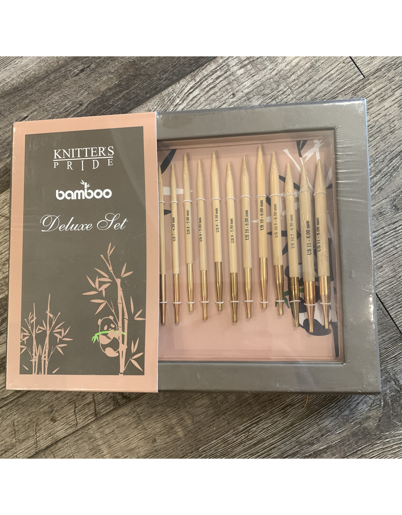 Knitters Pride Knitters Pride Bamboo Interchangeable Set