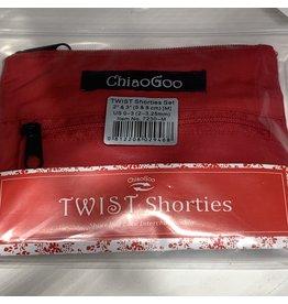ChiaoGoo ChiaogooTwist Shorties Red Set 2-3.25mm