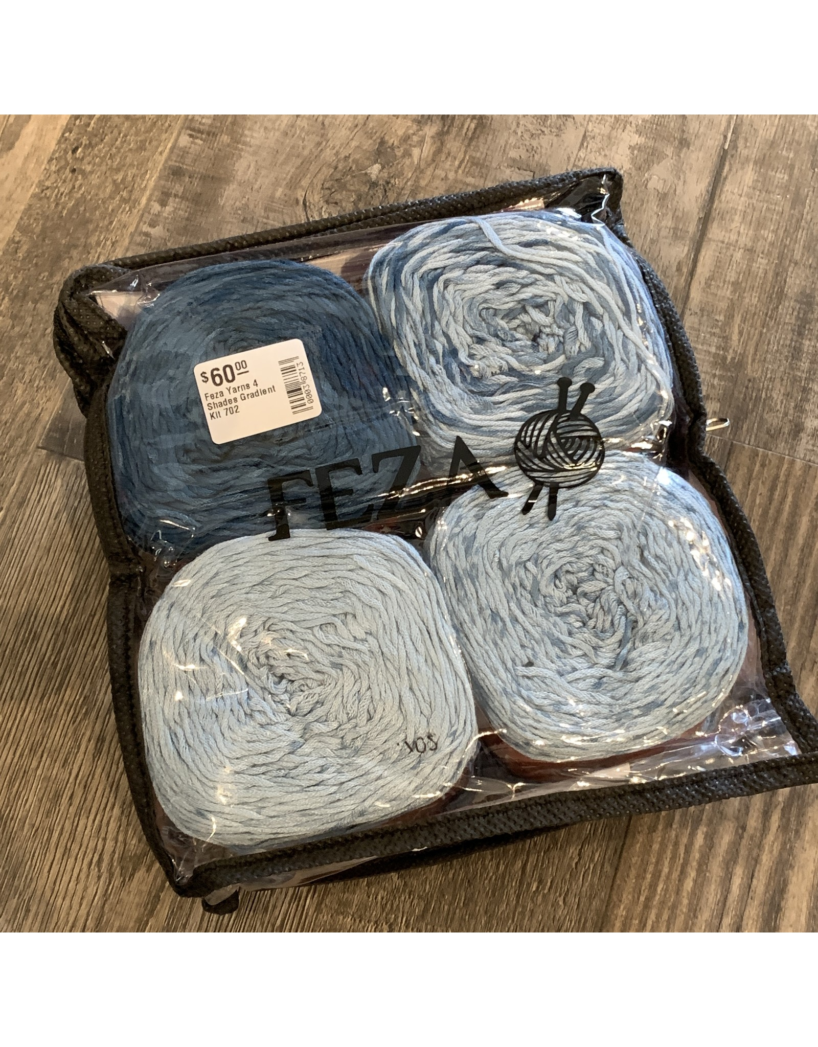 Feza Yarns 4 Shades Gradient Kit