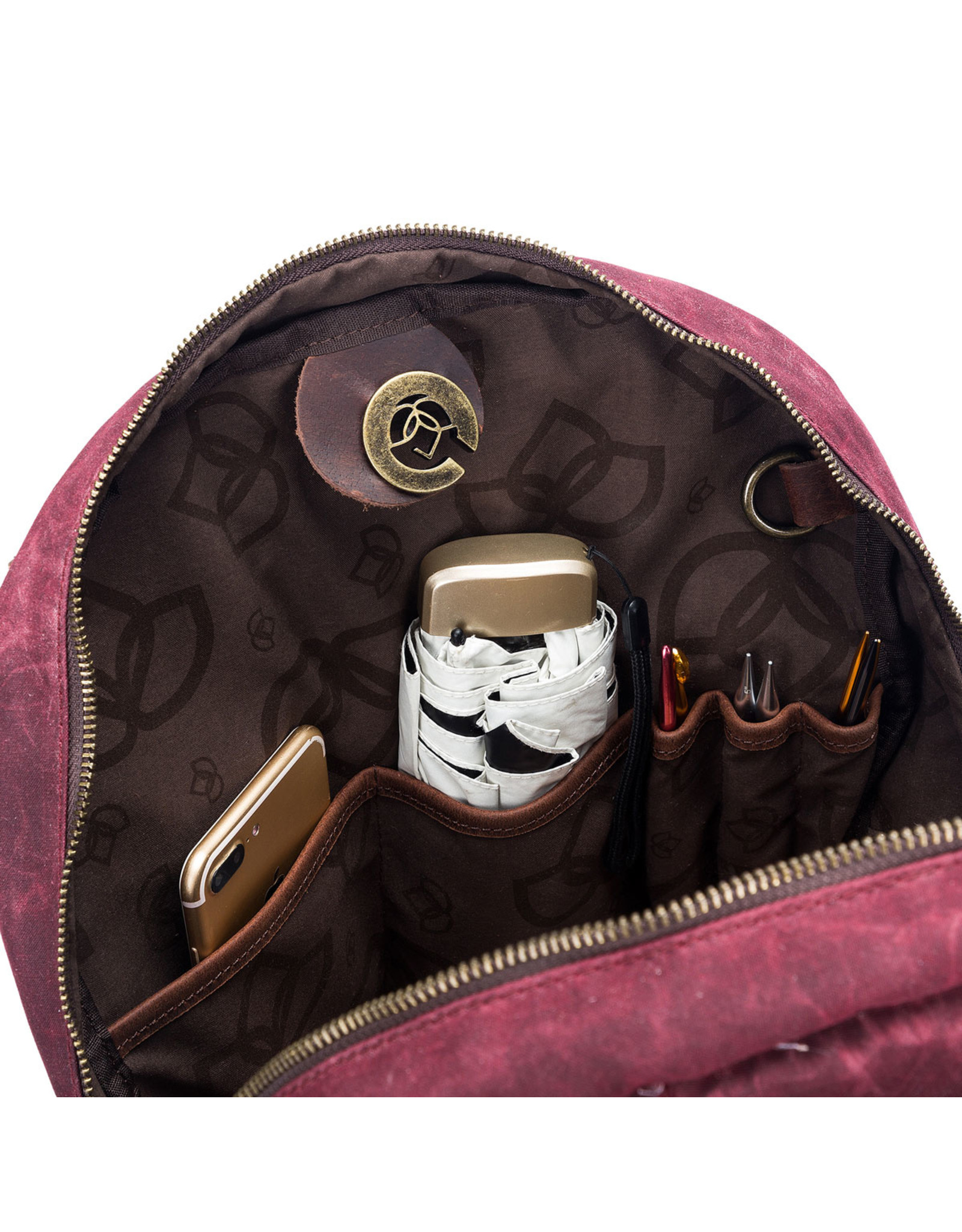Della Q Della Q Maker's Canvas Backpack