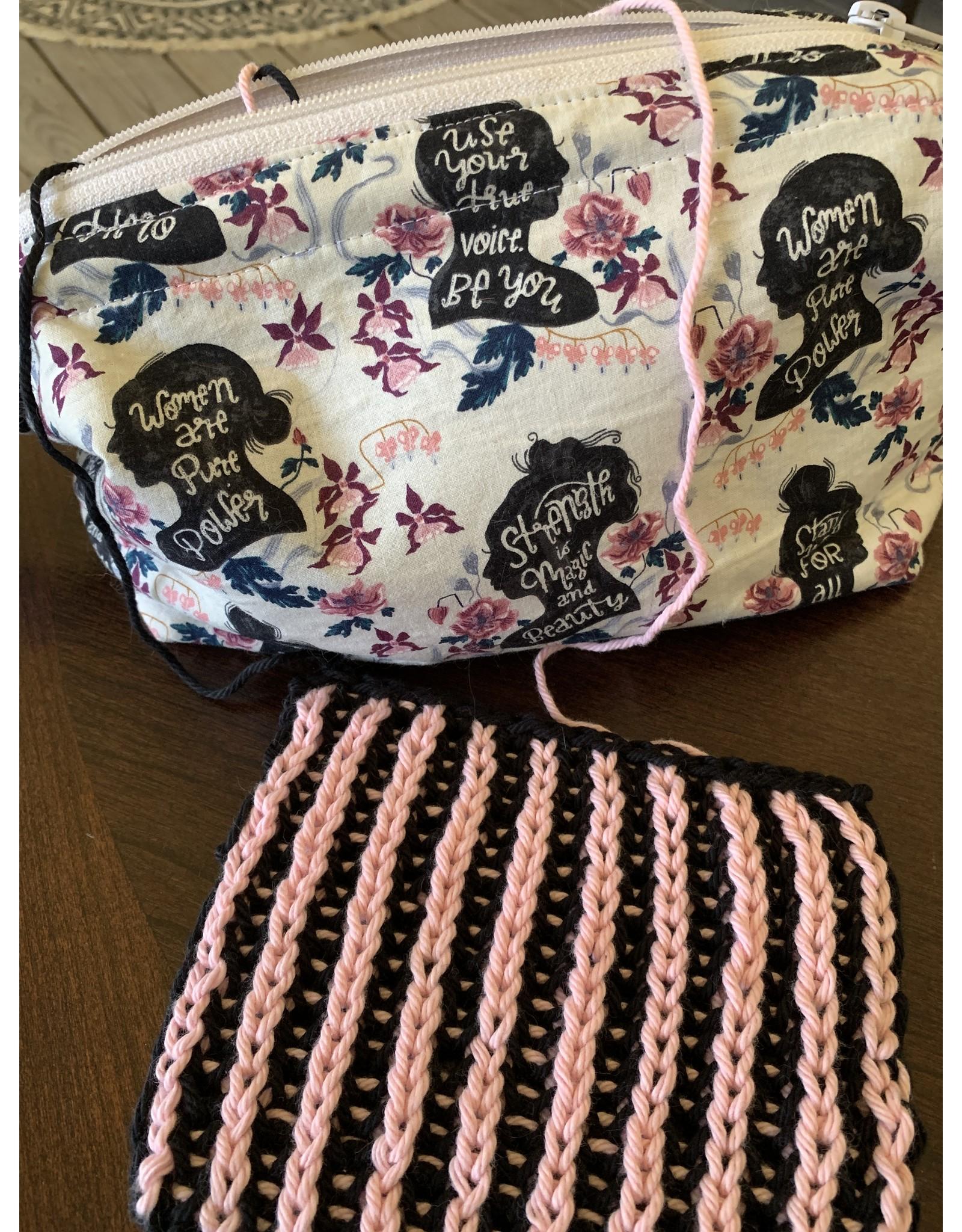 In store Class 217 Brioche Knitting 101: Coaster
