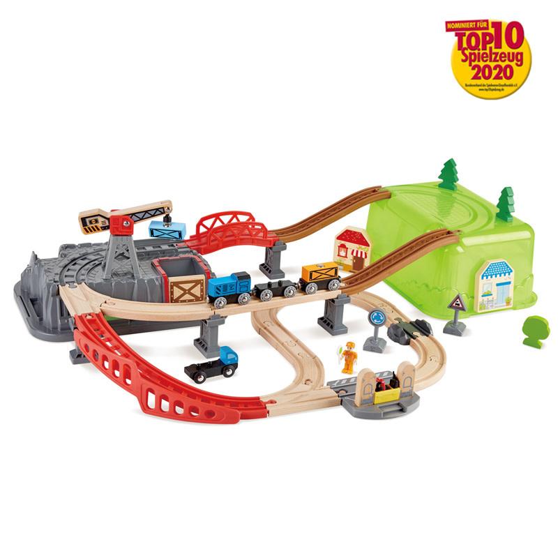 Hape Railway Bucket-Builder Set-2