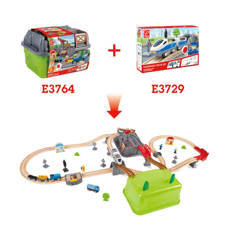 Hape Railway Bucket-Builder Set-3