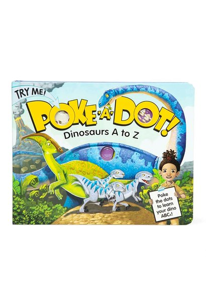 Poke-A-Dot Dinosaurs Board Book